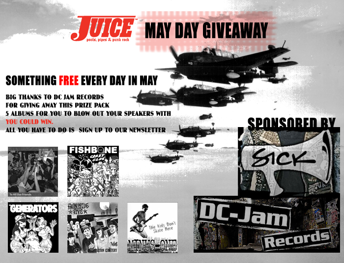 DC Jam Records May Day Giveaway