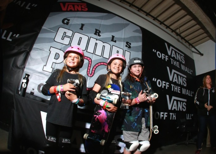 1aba32d9f6 Skateboarding history was made at the seventh annual Vans Girls Combi Pool  Classic contest on March 10th as World Cup Skateboarding and Vans invited  the top ...