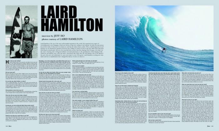 LAIRD HAMILTON photos courtesy of Laird Hamilton.