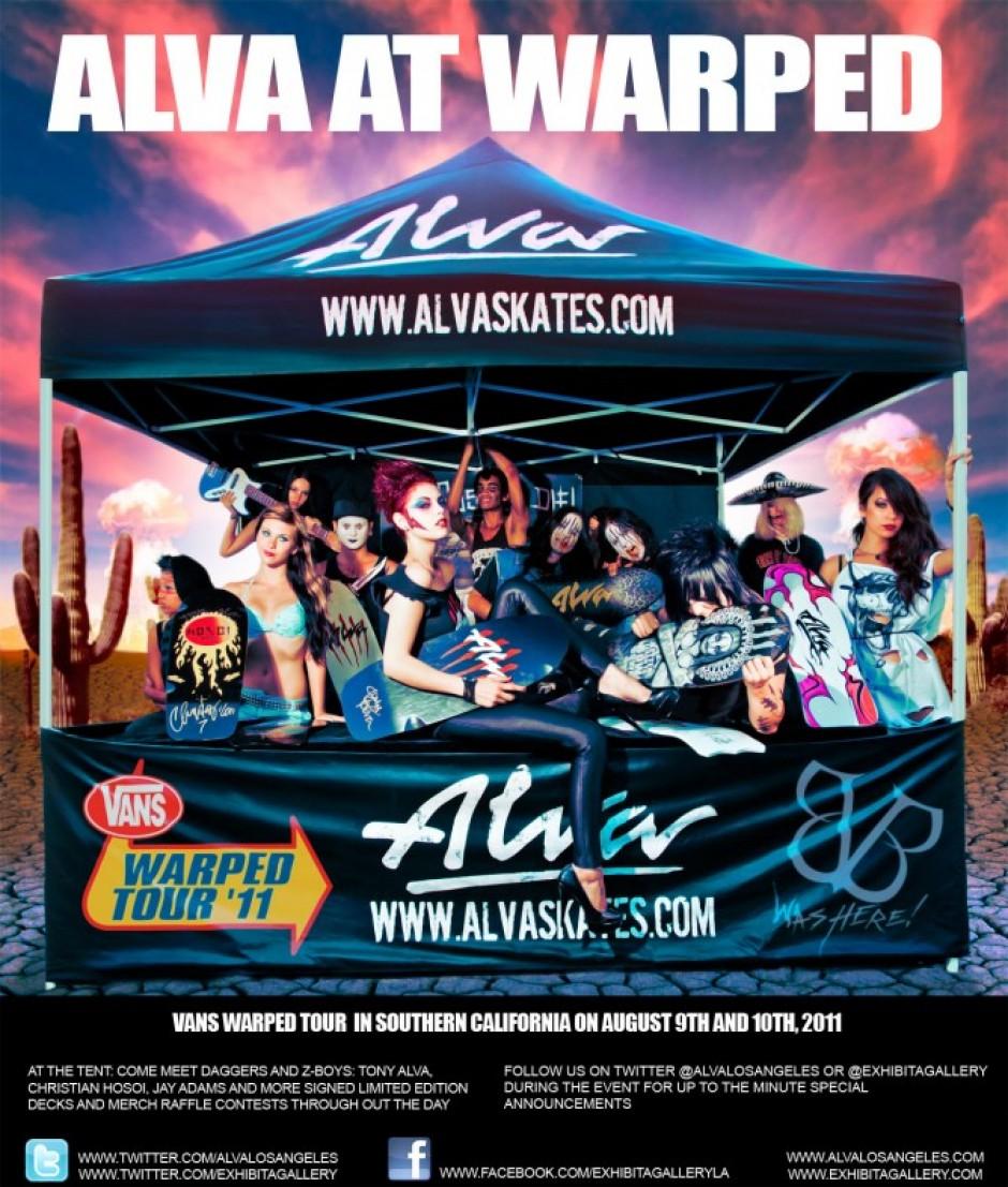 Alva Skate at Van Warped Tour