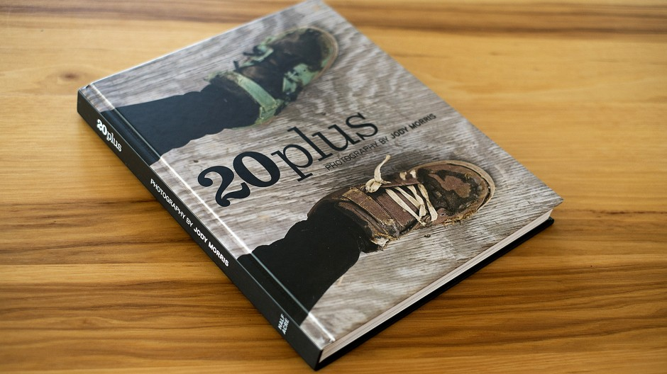 Veteran Photographer Jody Morris' first book; 20 Plus