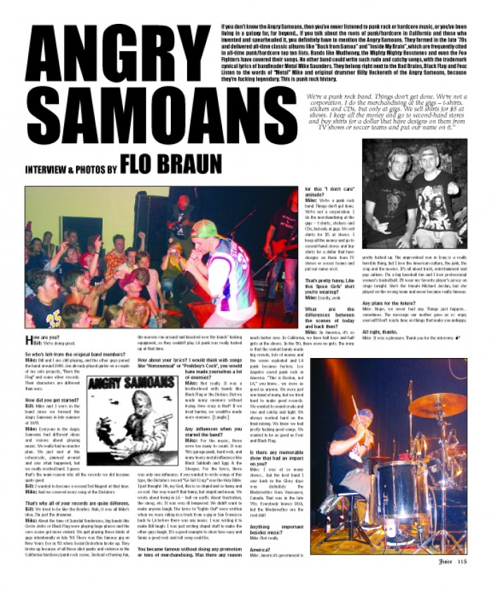 ANGRY SAMOANS