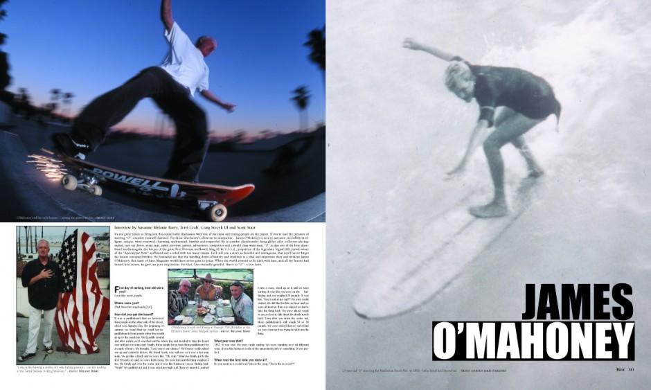 JAMES O'MAHONEY photos by Susanne Melanie Berry, James O'Mahoney and Scott Starr.