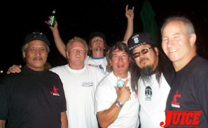 Wayne Inouye, Pat Kaiser, Benji Galloway, Paul Constantineau, Jeff Ho, Ronnie Jay. Photo: Dan Levy
