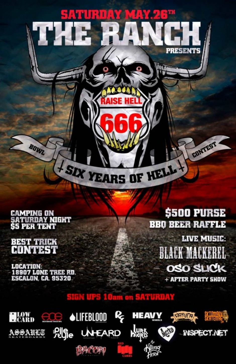 Raise Hell 6 at the Ranch