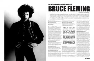 BRUCE FLEMING: Jimi Hendrix photo by Bruce Fleming