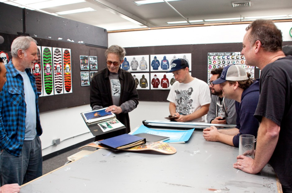 VCJ at the Powell-Peralta HQ