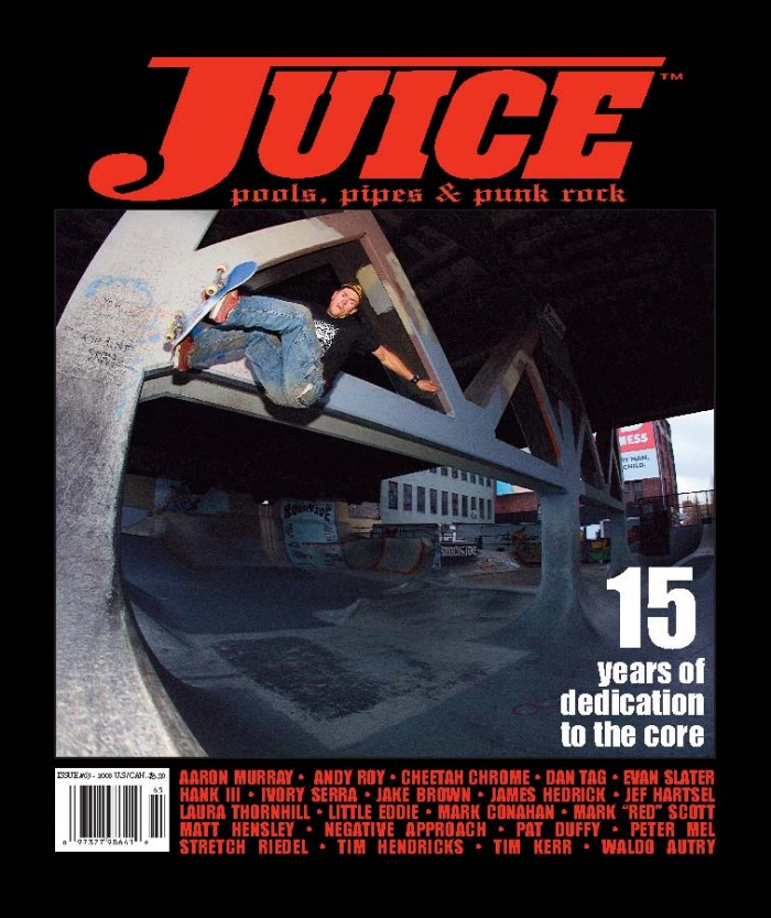 JUICE MAGAZINE 65 MARK SCOTT