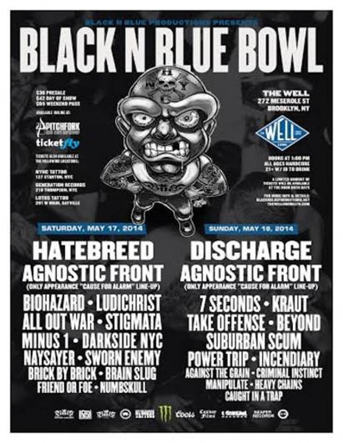 2014 Black N Blue Bowl in Brooklyn, NY