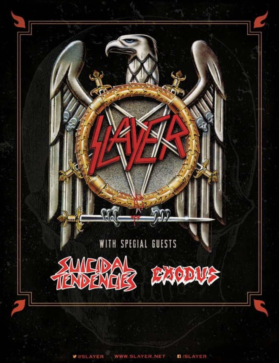 Slayer with Suicidal Tendencies and Exodus