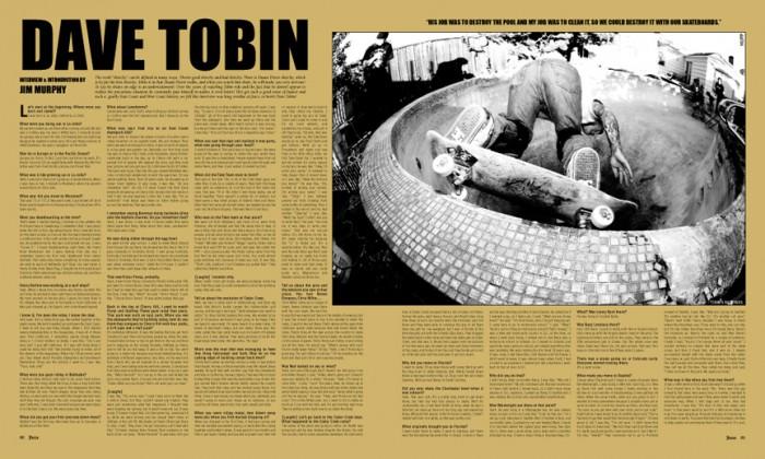 DAVE TOBIN