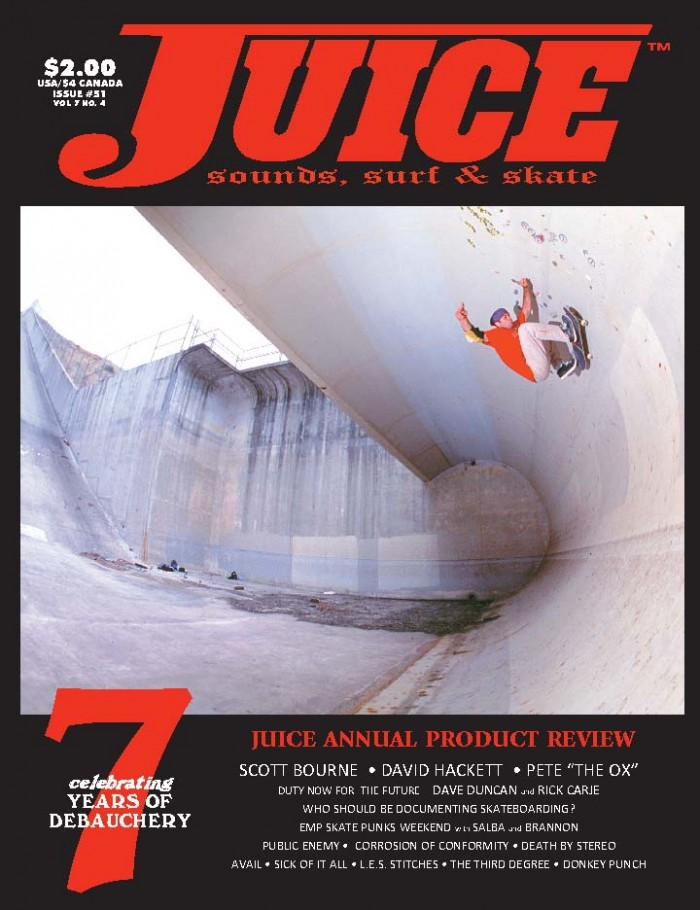 JUICE MAGAZINE 51 PETE COLPITTS