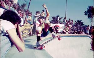 Todd Swank photo of Duane Peters in 1981