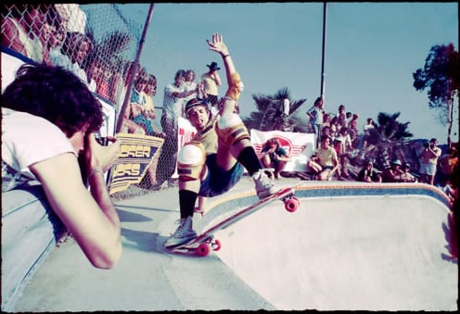 Todd Swank photo of Duane Peters in 1981