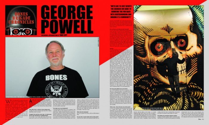 GEORGE POWELL - BONES BRIGADE CHRONICLES