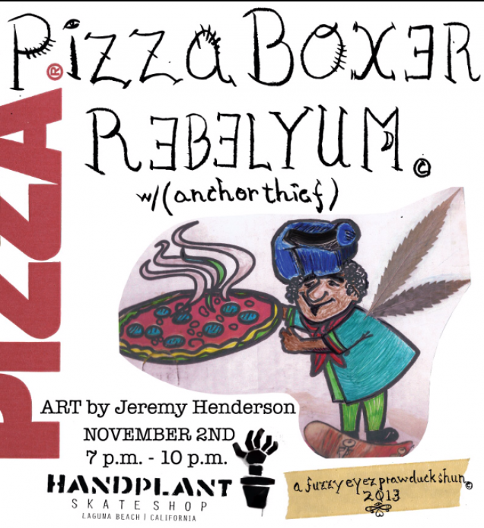 Pizza Box Rebelyum