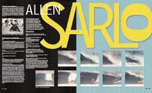 DOGTOWN CHRONICLES: ALLEN SARLO