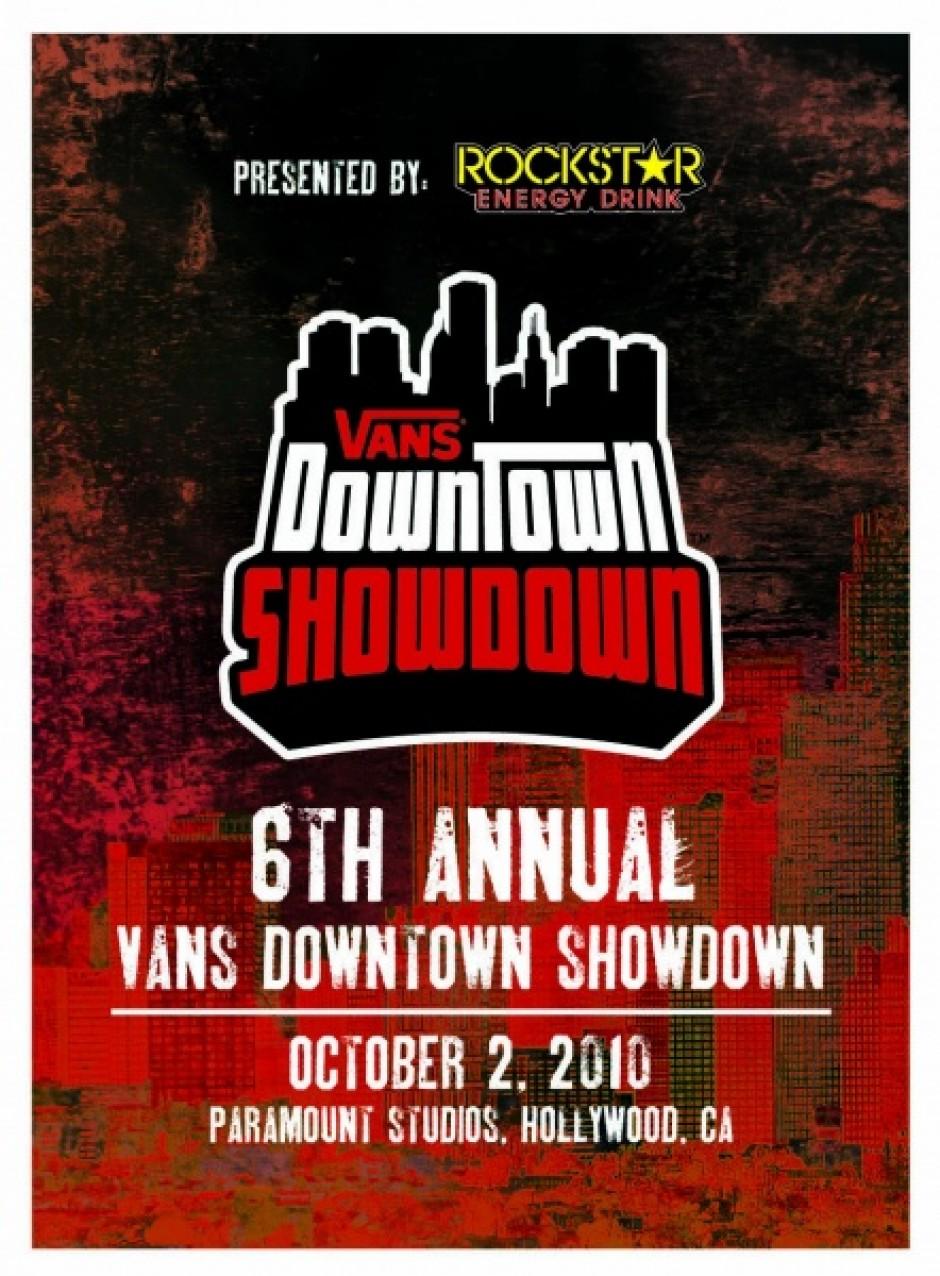 Vans Downtown Showdown 2010