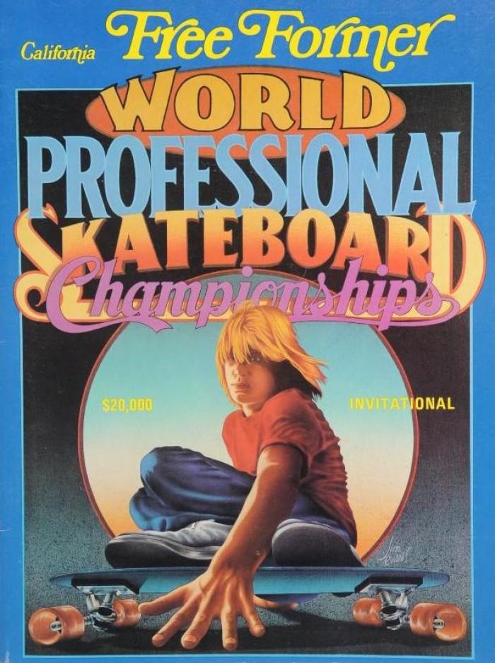 California Free Former Skate Contest Poster