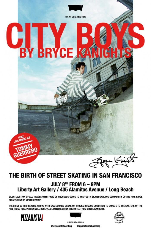 City Boys Flyer Bryce Kanights