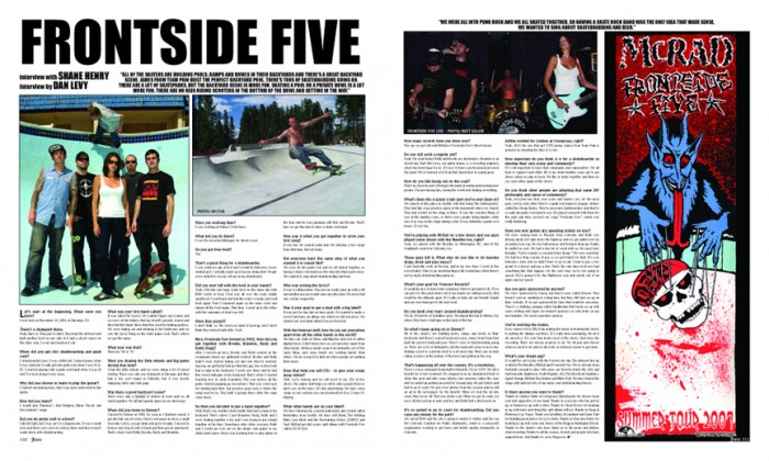 FRONTSIDE FIVE