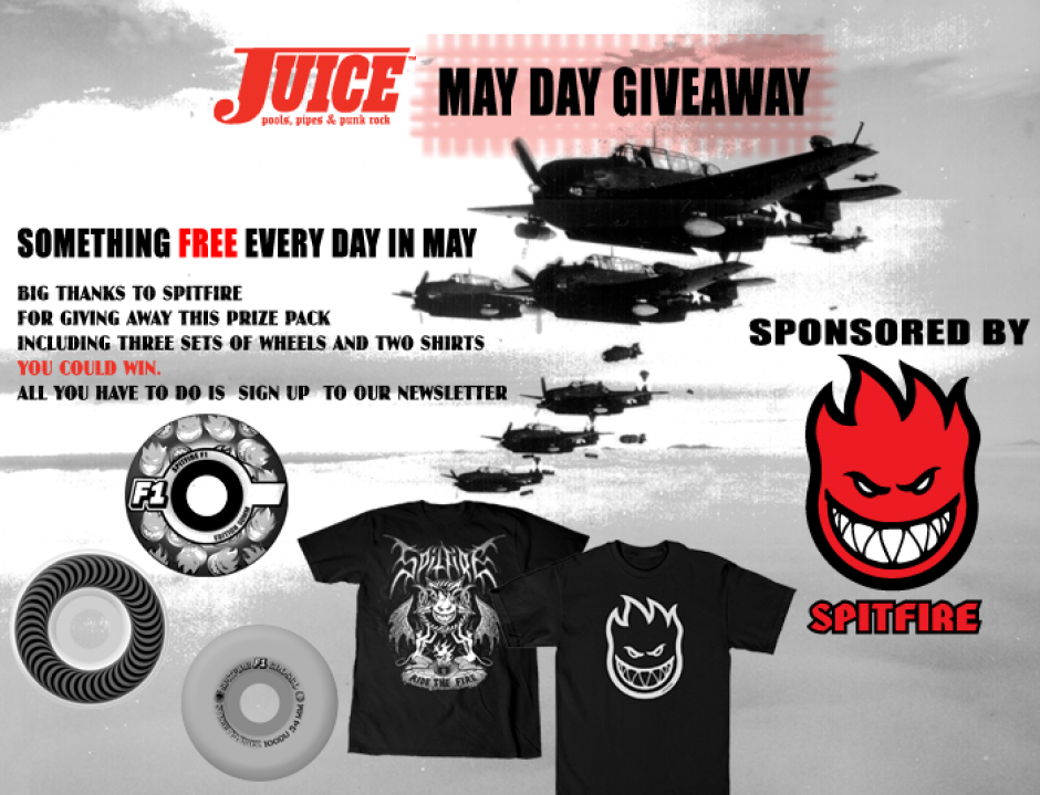 Spitfire May Day Giveaway