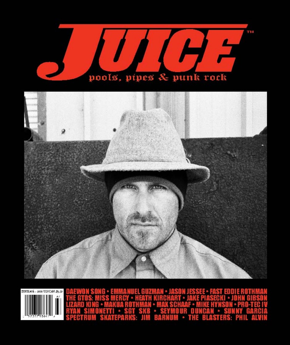 JUICE MAGAZINE 64 JASON JESSEE