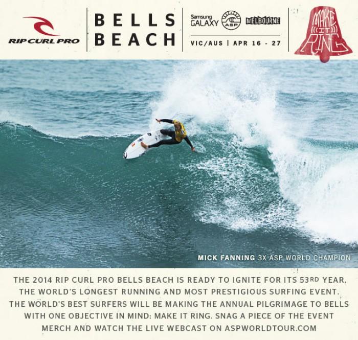 Rip Curl Pro @ Bells Beach