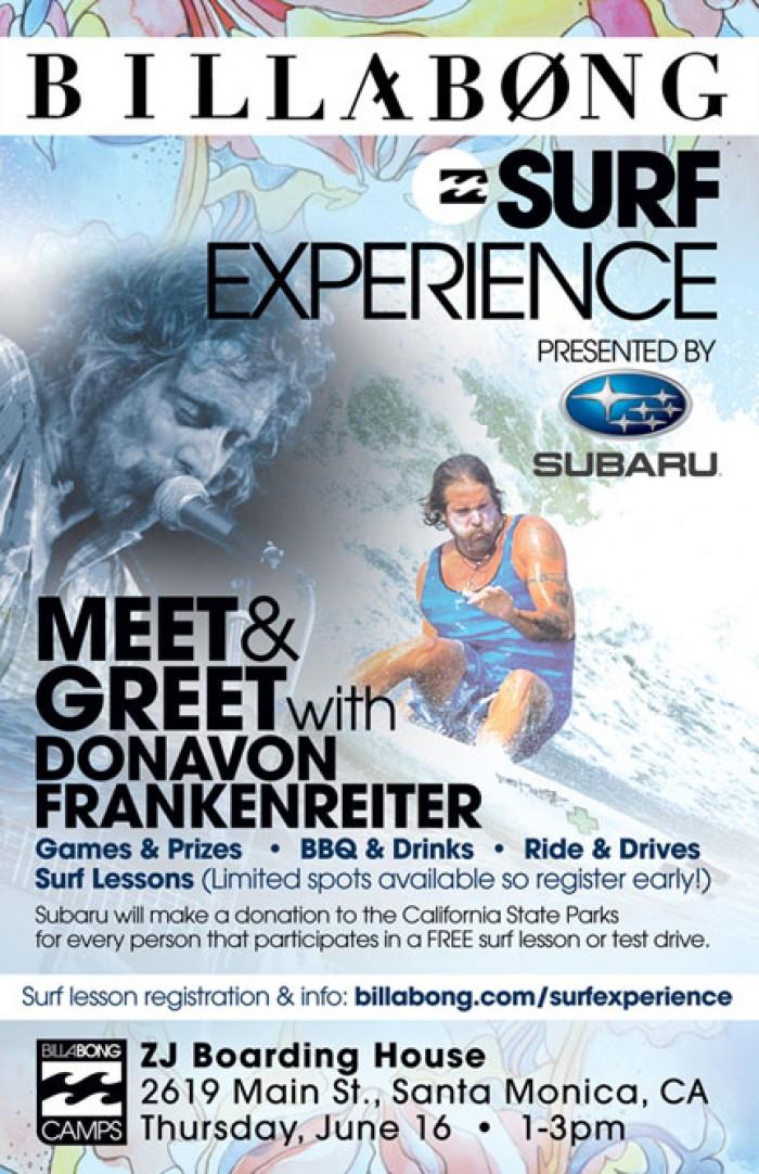Billabong Surf Experience at ZJ Boarding House