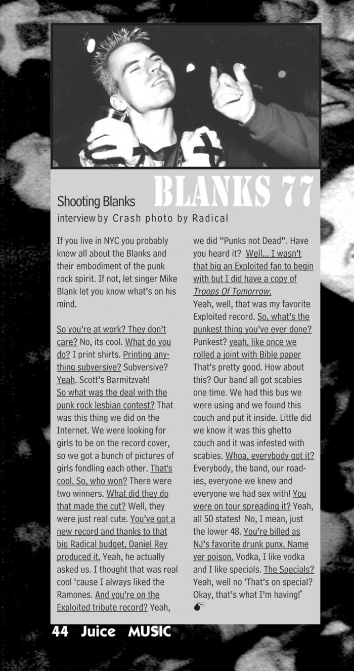 BLANKS 77