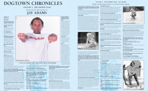 DOGTOWN CHRONICLES: JAY ADAMS