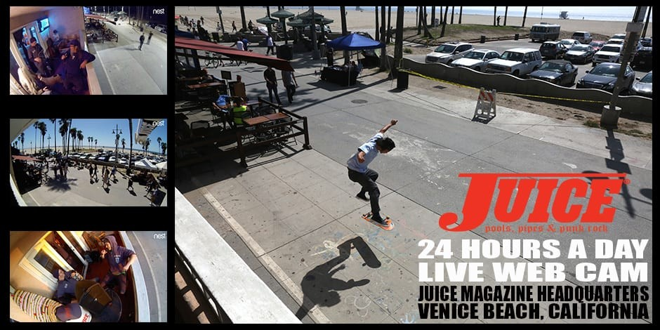 Juice Magazine Live WebCam Venice Beach California Slider