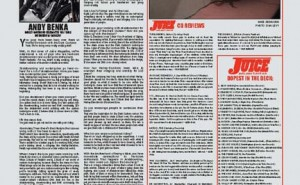 JUICE MAGAZINE CD REVIEWS 64