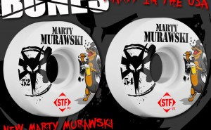 Bones Wheels Marty Murawski Pro Wheel