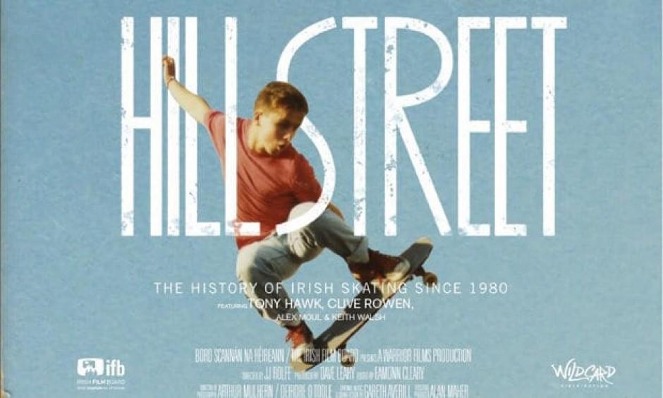 Hill Street Skateboarding Documentary Poster - Skateboarding in Dublin, Ireland