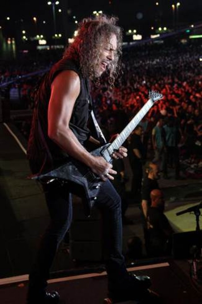 Metallica's Kirk Hammett to join Exodus and Death Angel on Stage at the first Annual Fear Festival