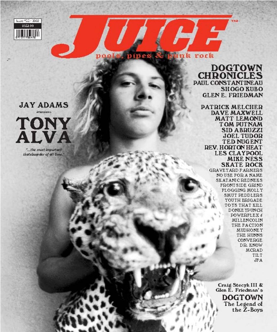 JUICE MAGAZINE 55 TONY ALVA