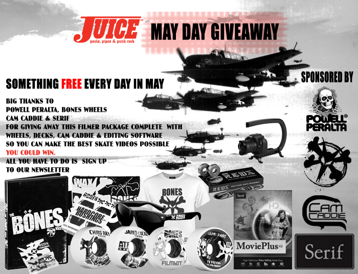 Filmer Package May Day Giveaway