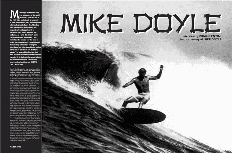 MIKE DOYLE