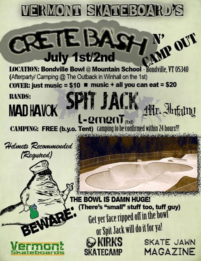 Crete Bash Poster