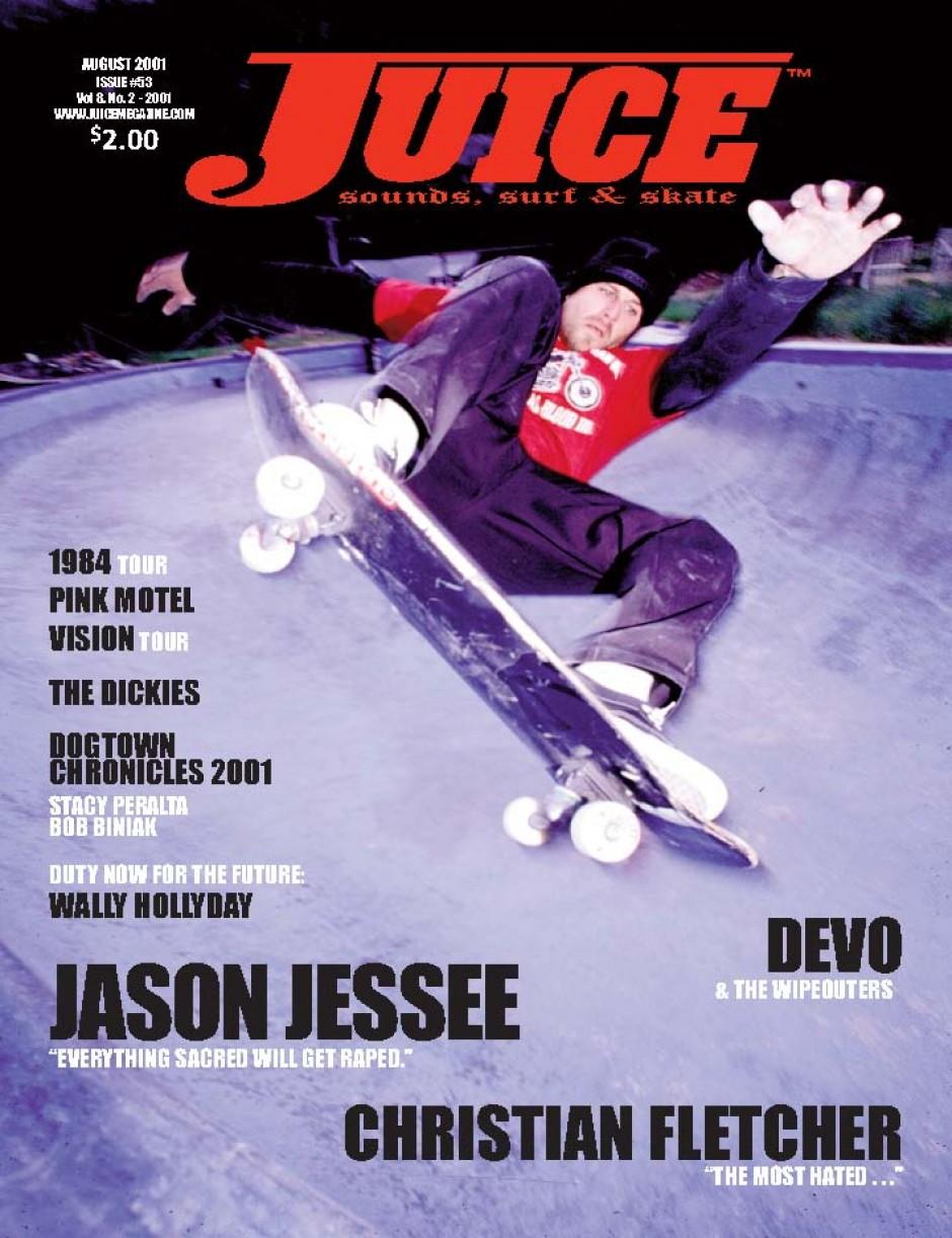 JUICE MAGAZINE 53 JASON JESSEE