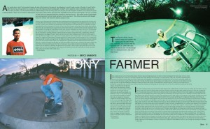 TONY FARMER photos by Bryce Kanights