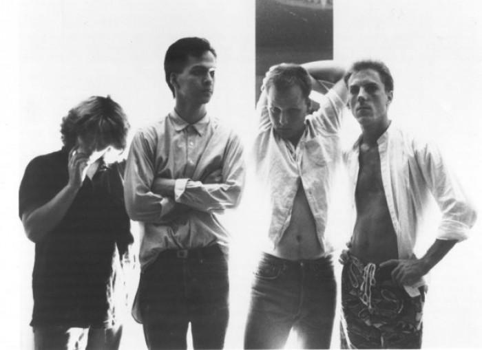 Left to Right: Kim Deal (bass); Joey Santiago (guitar); Frank Black (vocals, guitar); David Lovering (drums).