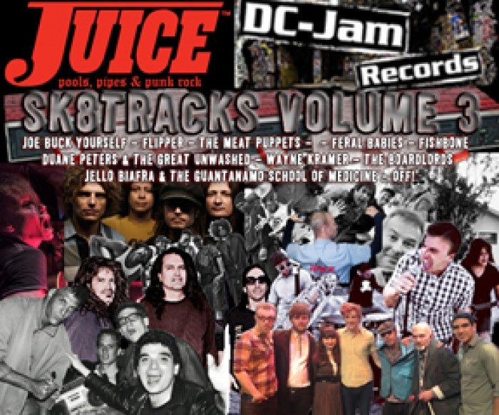 Juice Magazine SK8TRACKS Volume 3