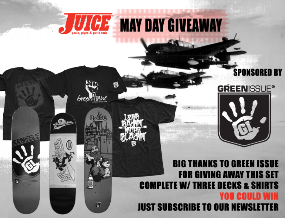 Green Issue May Day Giveaway