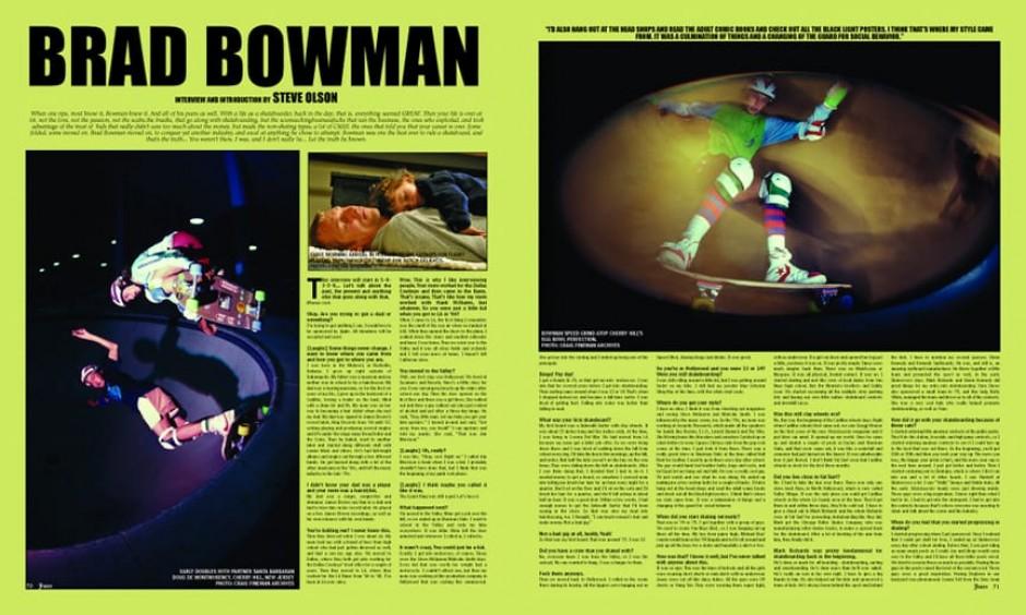 BRAD BOWMAN