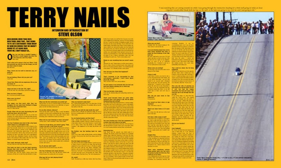 TERRY NAILS
