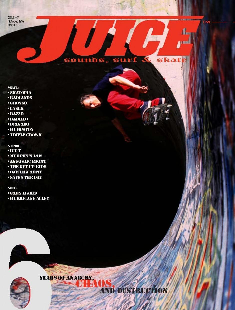 JUICE MAGAZINE 47 DAVE REUL