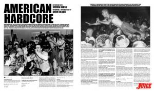 AMERICAN HARDCORE - STEVE BLUSH