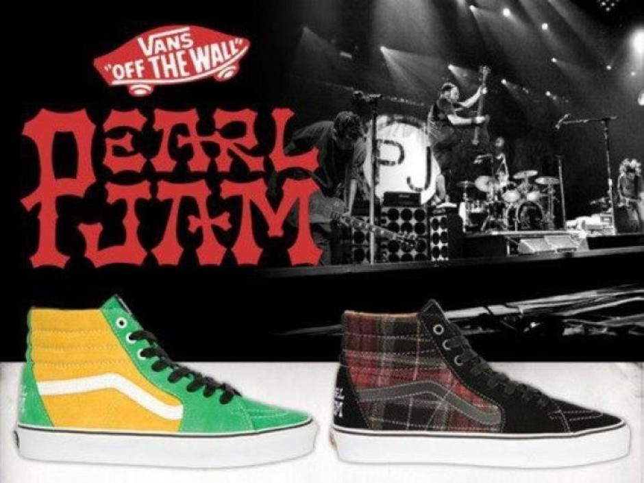 Vans Pearl Jam Shoe